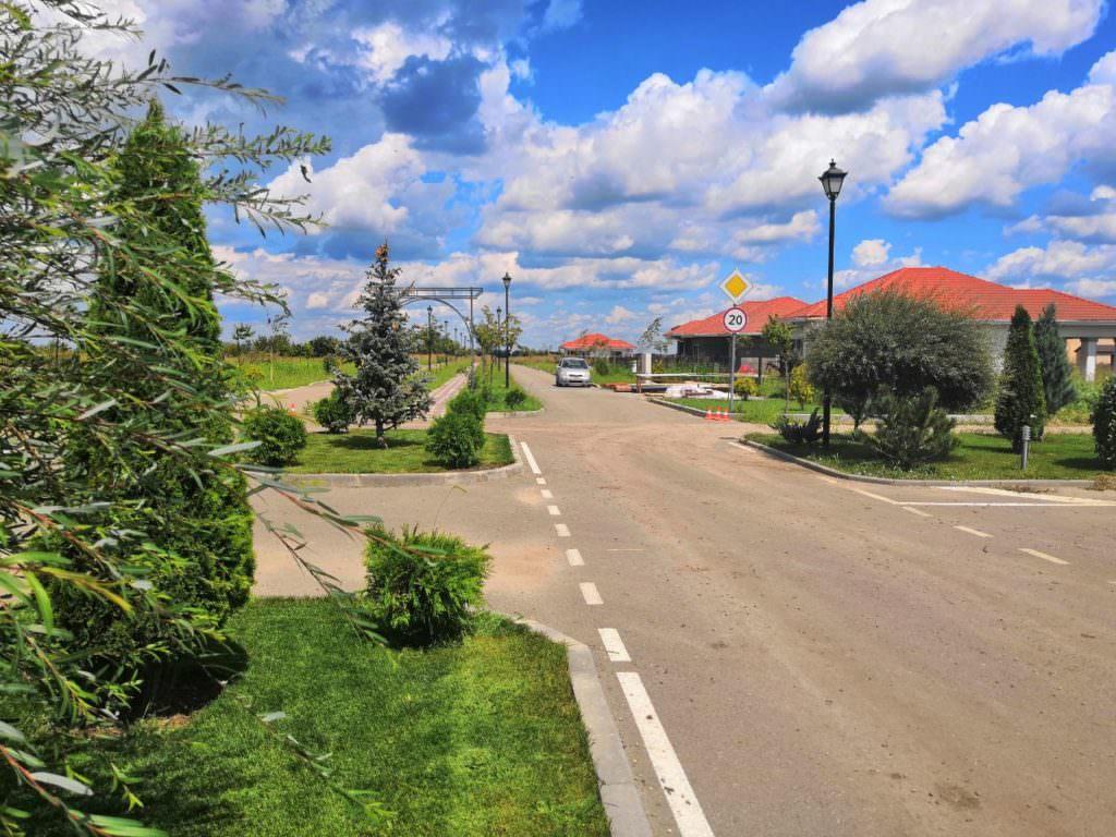 Зеленая центральная алея